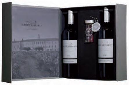 Estuche Regalo 2 botellas Abadía Retuerta Ledomaine 2017 con Sal de Vino