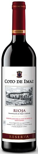 Vino Rioja Coto de Imaz Reserva 2014