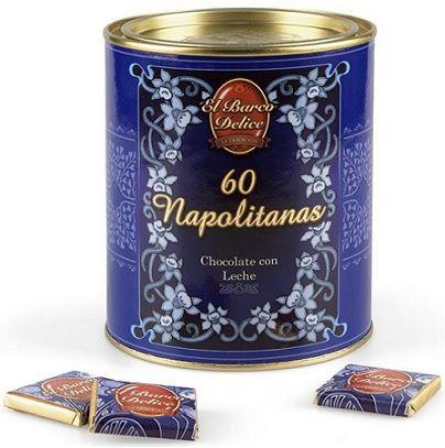 Napolitanas de Chocolate con Leche 60 Unidades