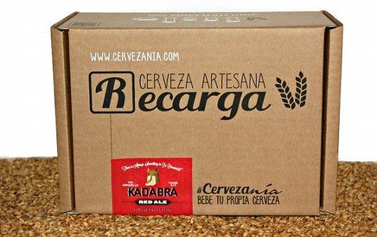 Recarga Cerveza Red Ale Kadabra