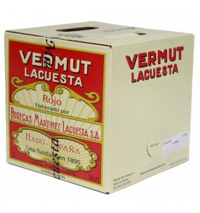 Bag in Box 5 Litros Vermouth Lacuesta Rojo