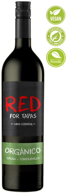 red for tapas organic